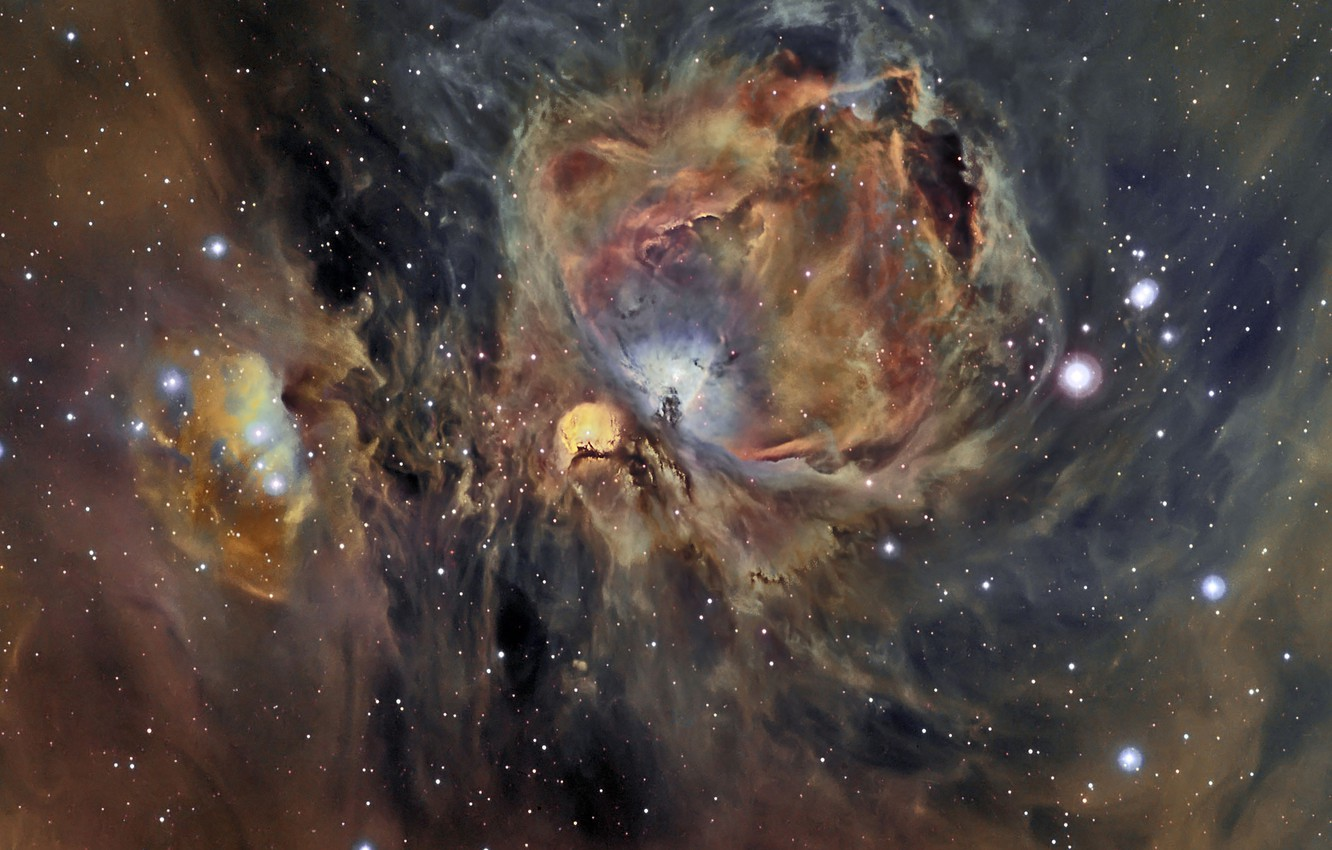 Photo wallpaper stars, stars, Orion Nebula, The Orion Nebula, Cesar Blanco Gonzalez
