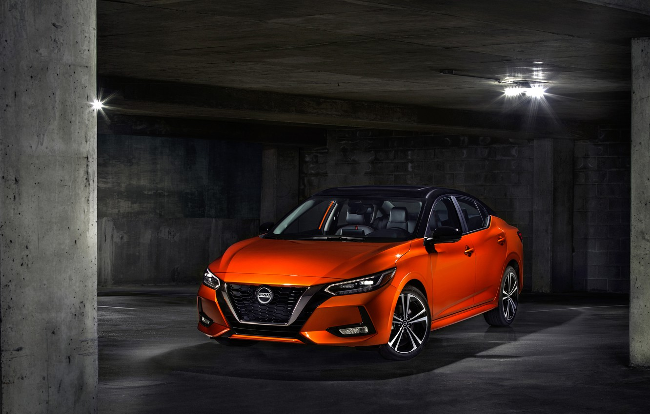 Photo wallpaper Nissan, 2020, Sentra SR