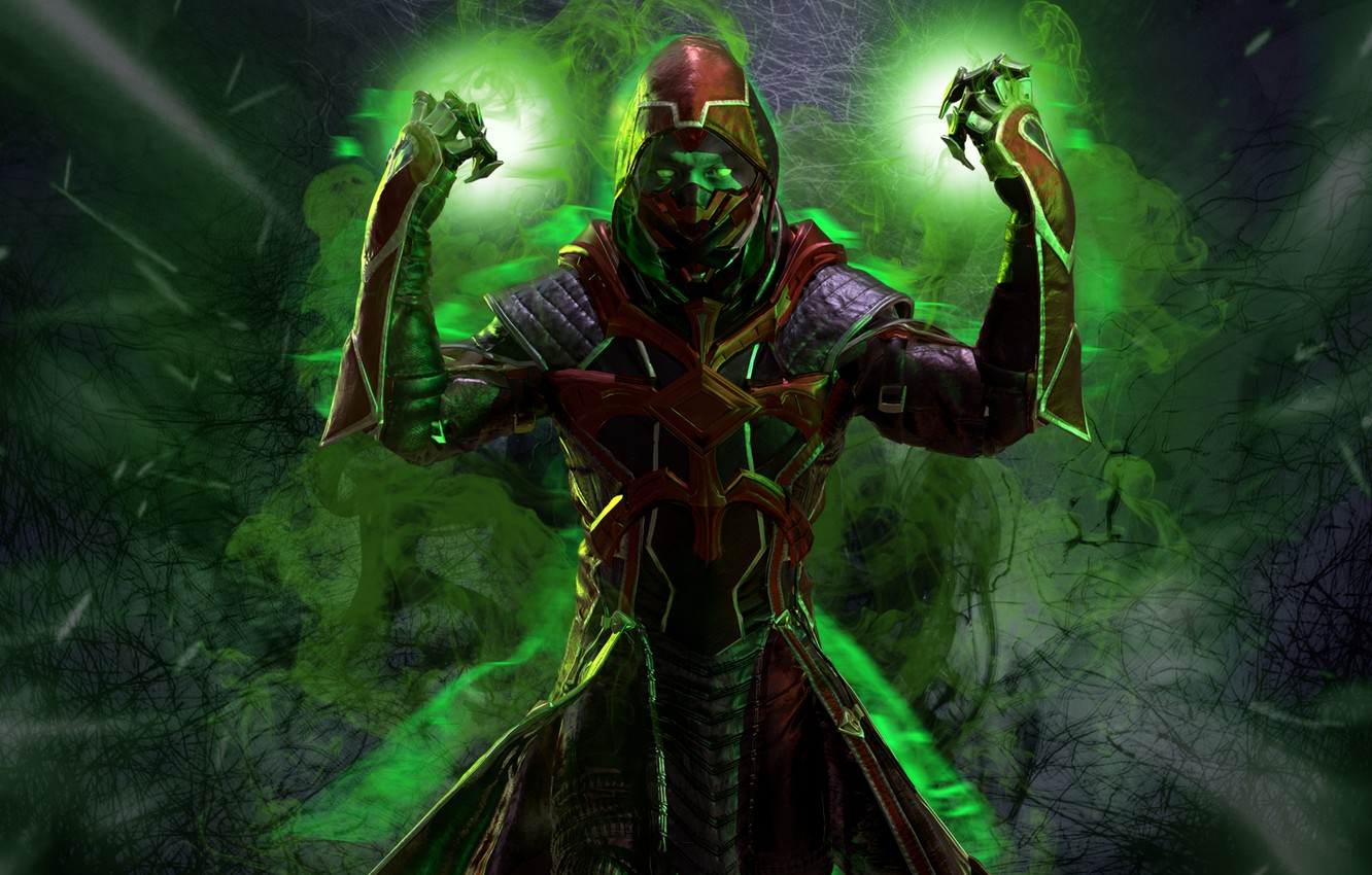 Wallpaper Magic Wallpaper Mortal Kombat Character Ermak Ermak