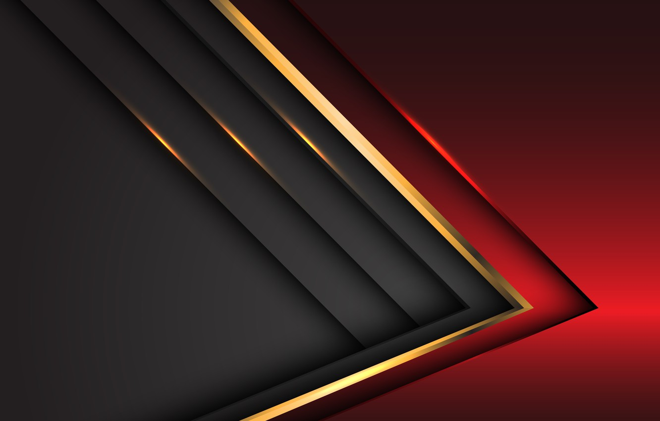 Photo wallpaper line, red, grey, background, gold, background
