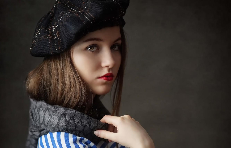 Photo wallpaper portrait, sponge, takes, Vika, * Filimoshin Ilya
