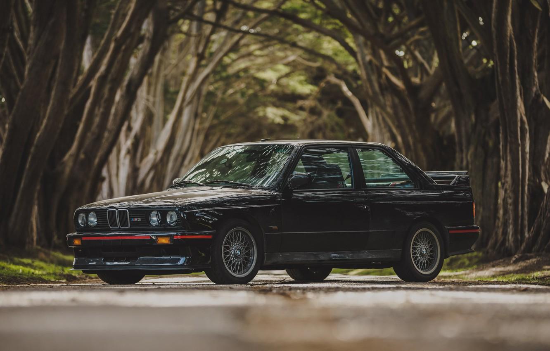 Photo wallpaper BMW, EVO, E30, M3