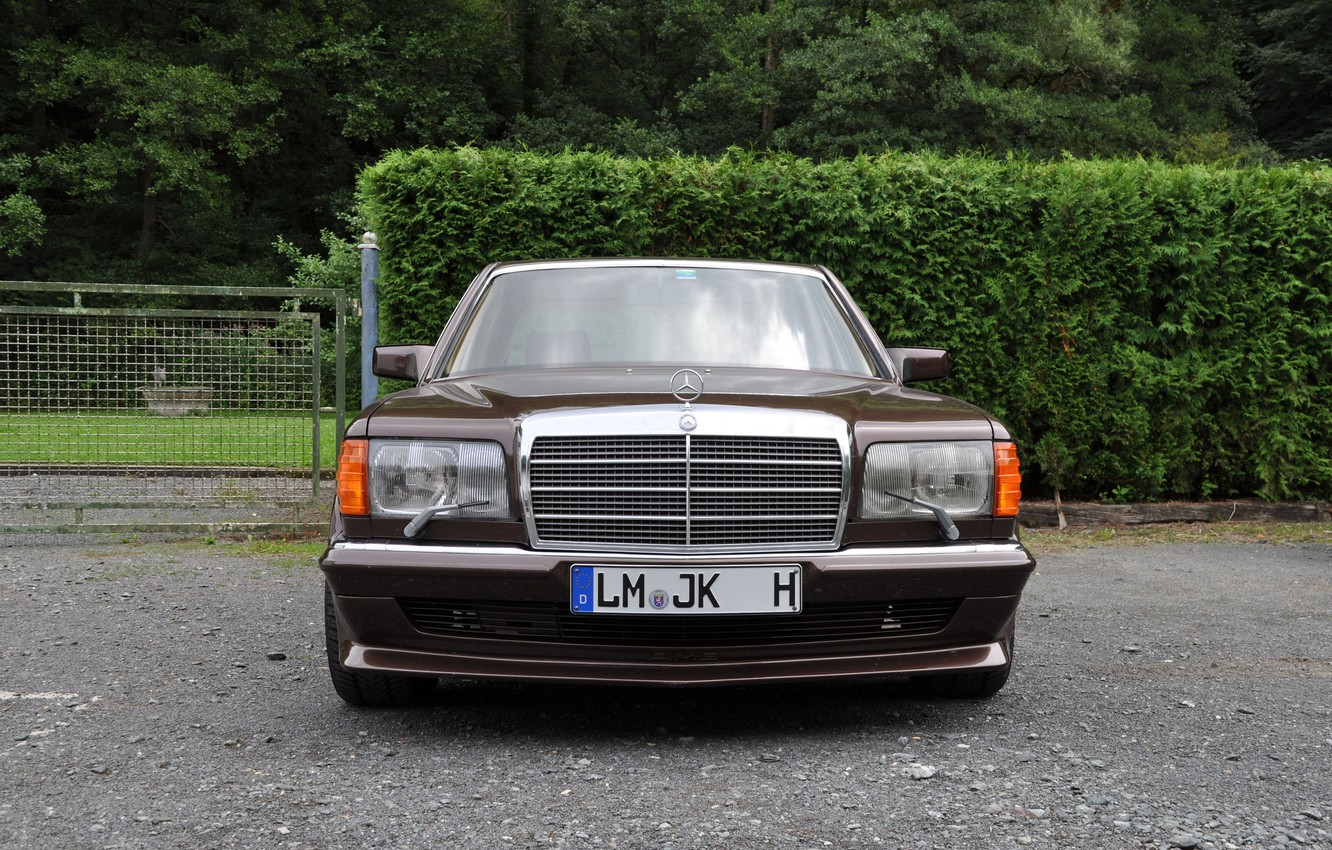 Wallpaper Mercedes - Benz, w126, w126 560 sel, s-classe
