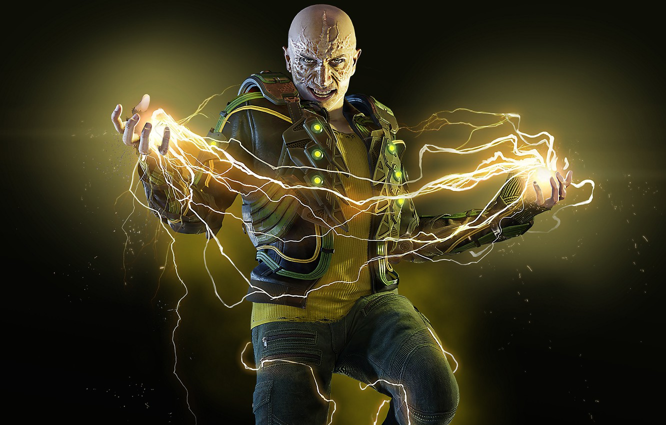 Photo wallpaper The game, Electricity, Zipper, Electro, Marvel, Villain, Game, Comics, Electro, Marvel, PlayStation 4, PS4, Comics, …