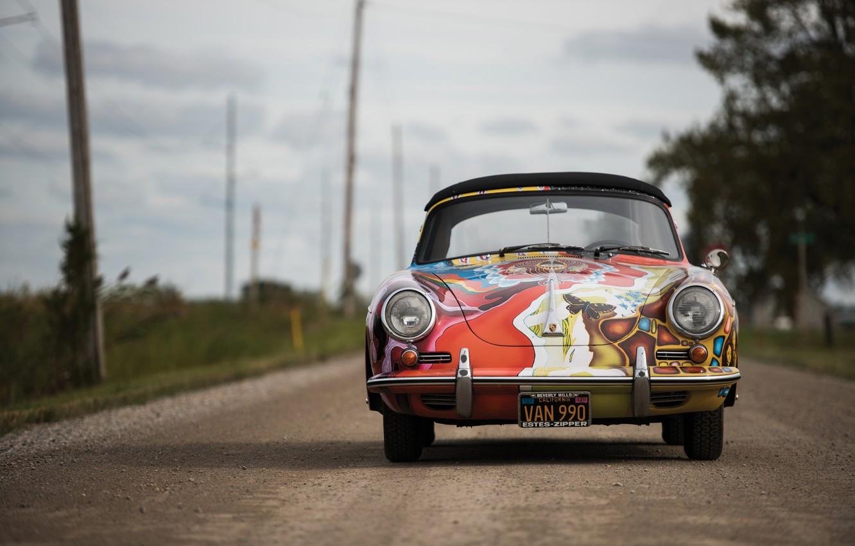 Photo wallpaper porsche, 1964, 356, cabriolet, by janis jopli, art car