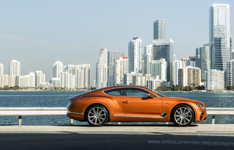 Photo wallpaper coupe, Bentley, promenade, 2019, Continental GT V8