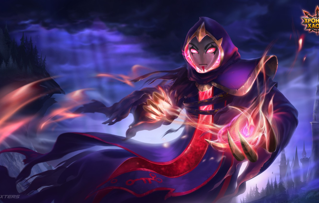 Photo wallpaper The game, character, Game, RPG, Faceless, Chronicles Of Chaos, Hero Wars