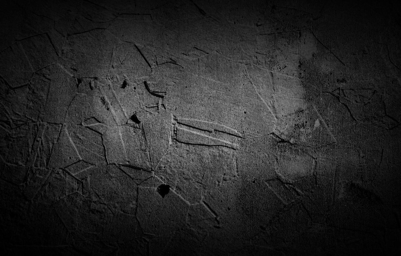 Photo wallpaper Black, Grunge, Stones, Textures