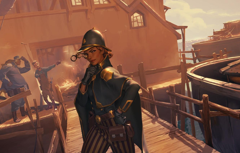 Photo wallpaper girl, port, Legends of Runeterra