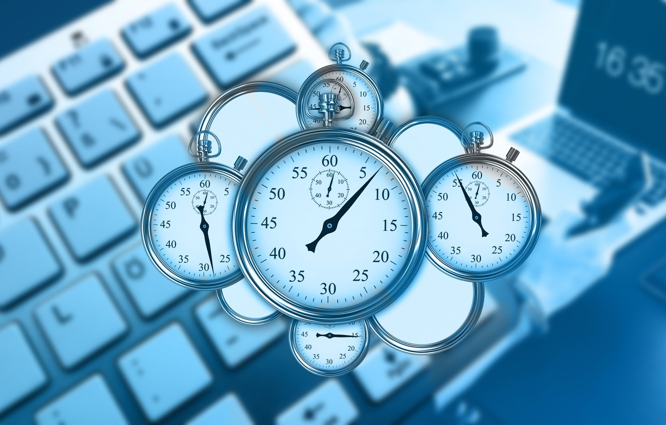 Wallpaper Time Management Keyboard Laptop Fleeting Stopwatches Images For Desktop Section Rendering Download