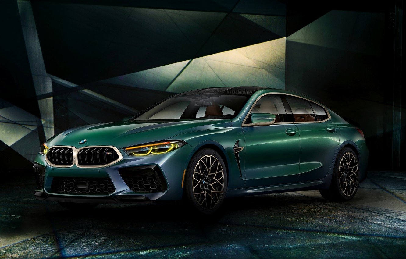 Photo wallpaper background, coupe, BMW, First Edition, 2020, 2019, M8, the four-door, M8 Gran Coupe, F93