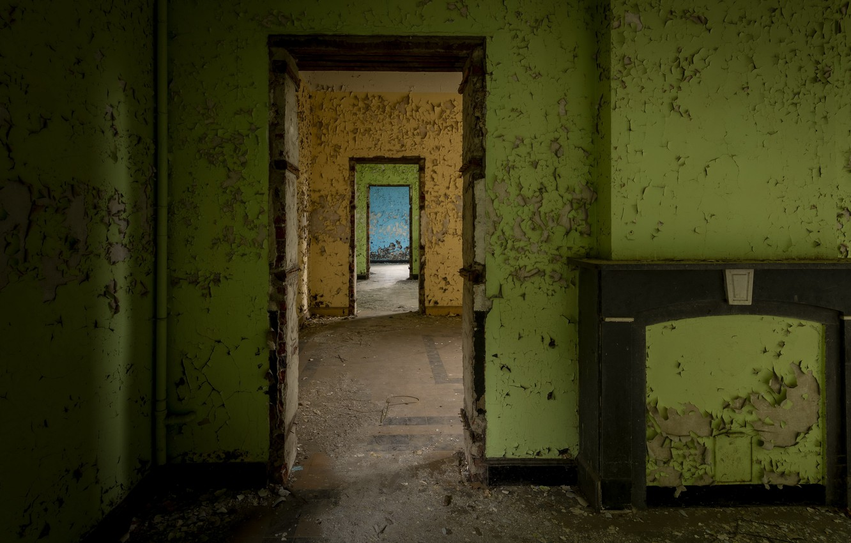 Photo wallpaper house, room, naturalism