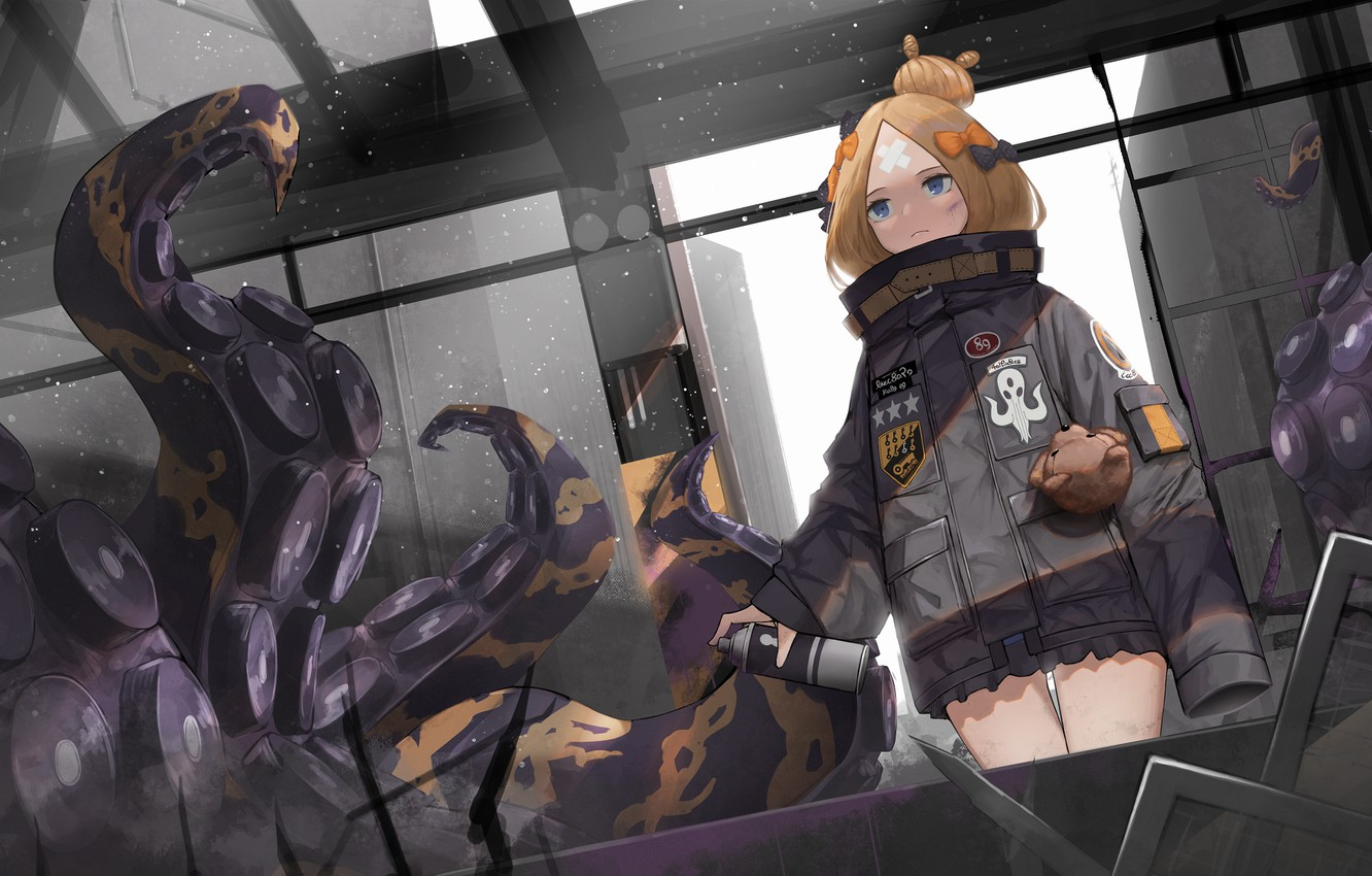 Photo wallpaper girl, the tentacles, Fate / Grand Order, The destiny of a great campaign