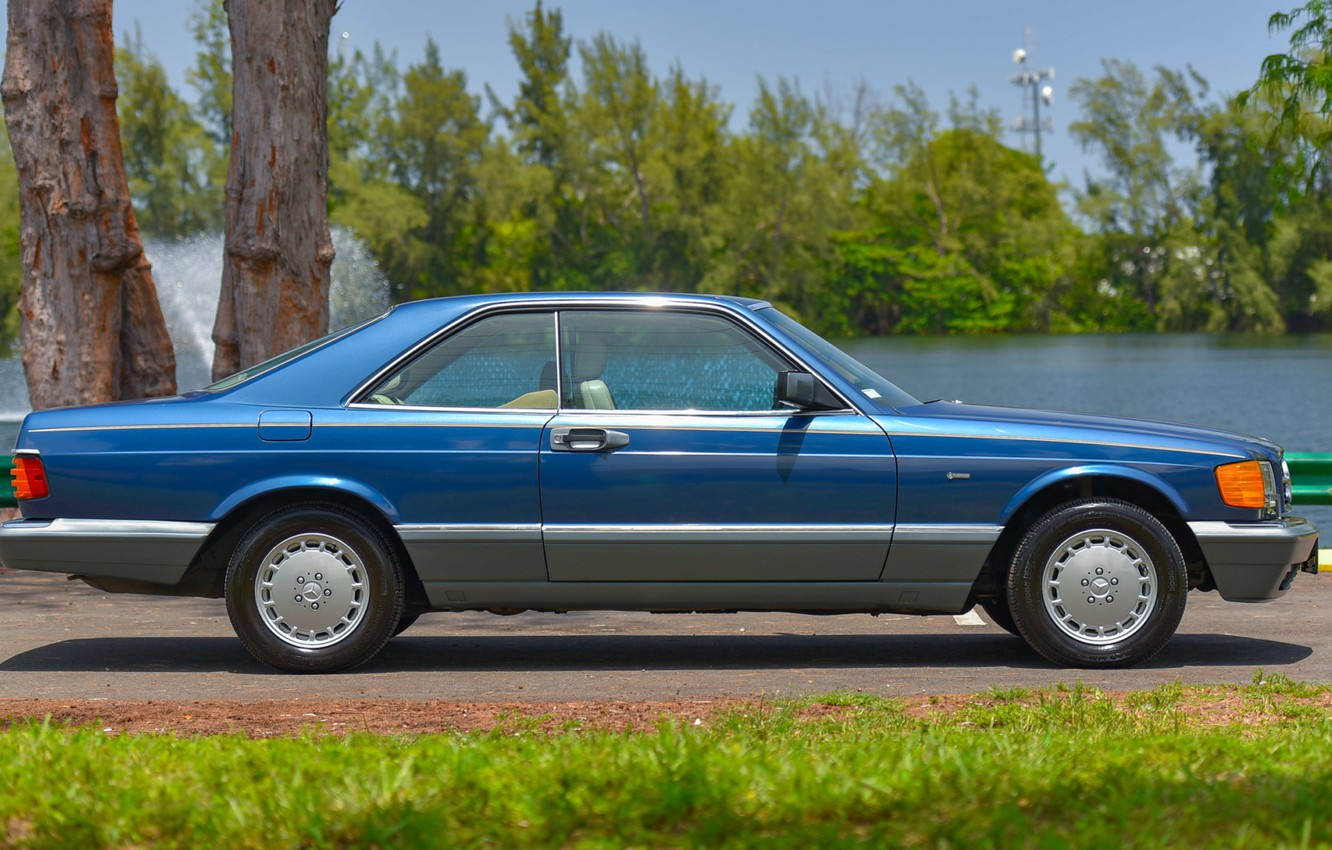 Photo wallpaper Mercedes - Benz, C126, 560SEC