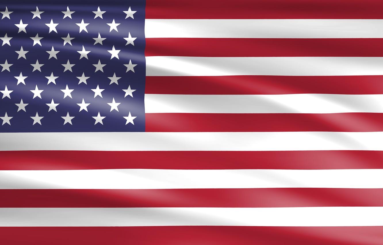 Photo wallpaper USA, Star, American, Flag, America, American Flag, Float, United Staes, Streak, Ensign, National Flag