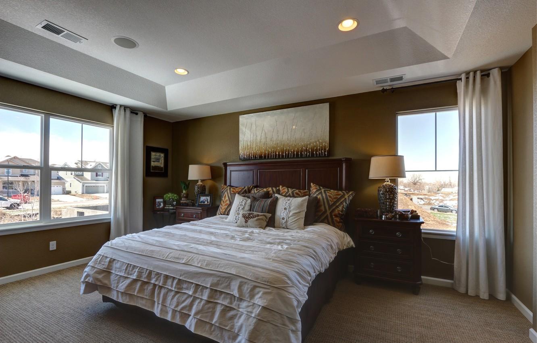 Photo wallpaper bed, interior, bedroom