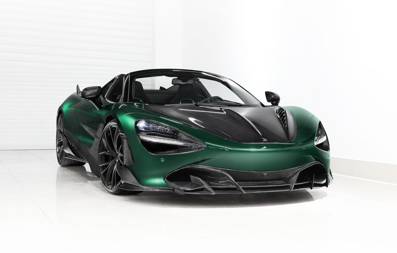 Photo wallpaper McLaren, supercar, Spider, Ball Wed, Fury, 2020, 720S