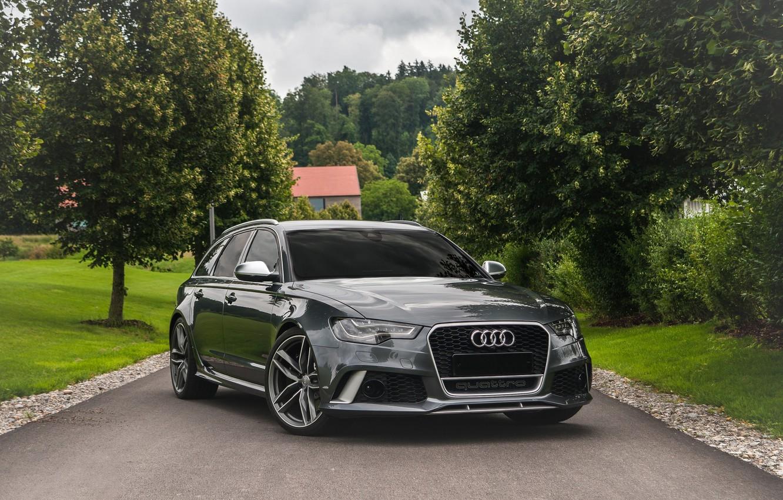 Photo wallpaper Audi, Before, RS6