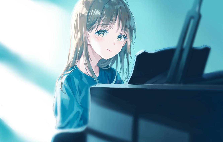 Photo wallpaper anime, girl, suzumi konbu