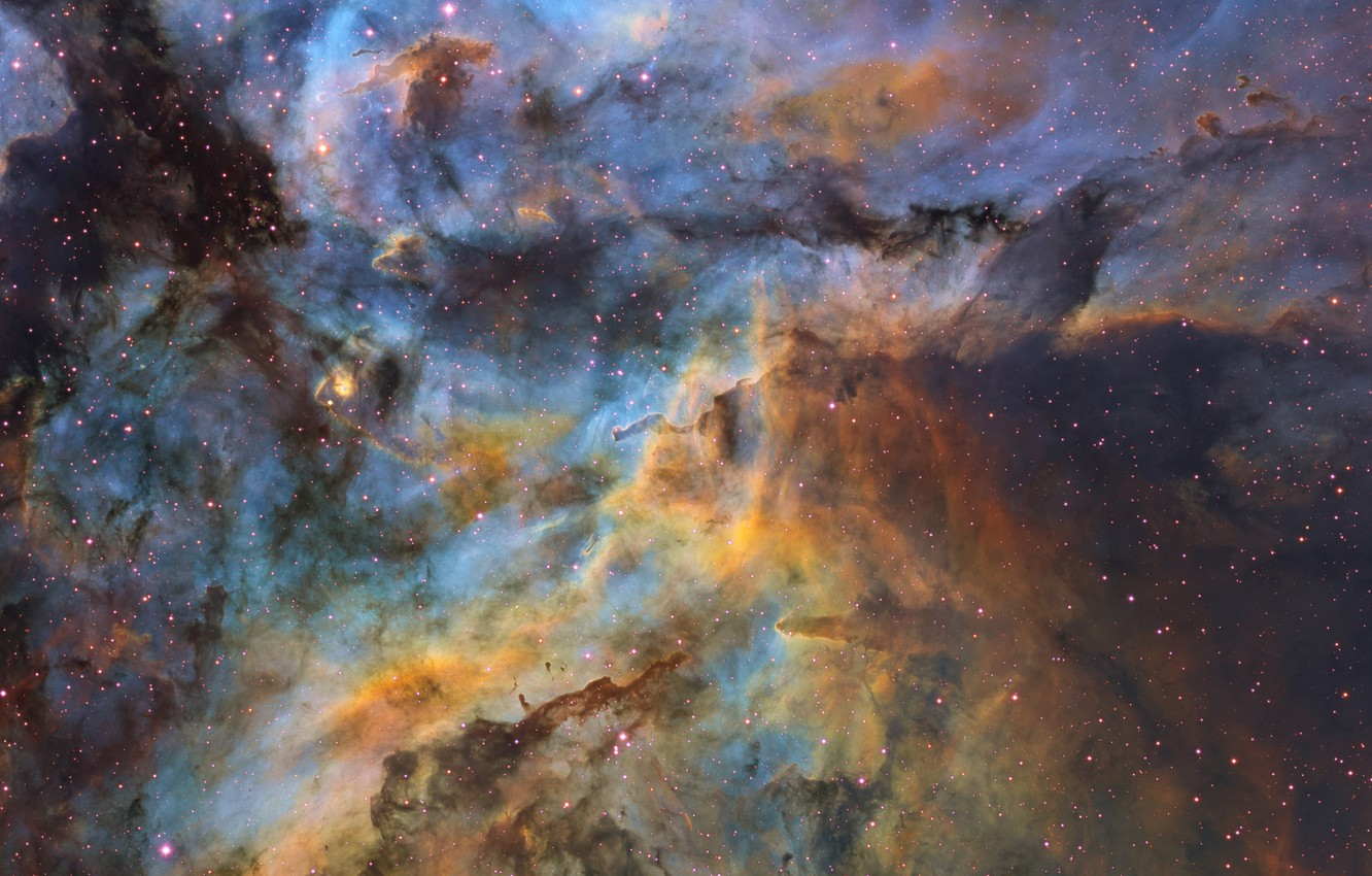 Photo wallpaper stars, stars, the constellation of Carina, dust clouds, dust obloka, Ignacio Diaz Bobillo
