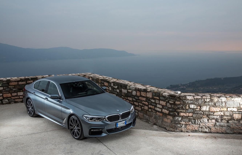 Photo wallpaper BMW xDrive 530d, BMW 2017, BMW M Sport, BMW 2017 530d xDrive Sedan M Sport …