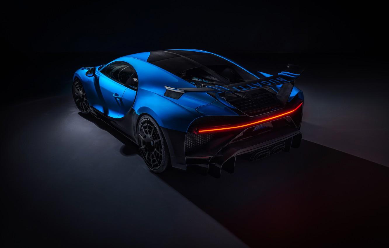 Photo wallpaper Bugatti, hypercar, Chiron, 2020, Pur Sport