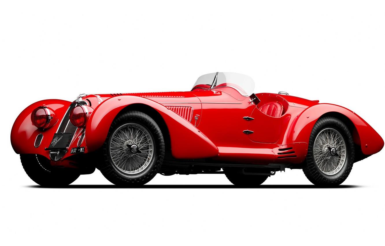 Photo wallpaper Red, Retro, Alfa Romeo 8C 2900 Mille Miglia Spider 1938