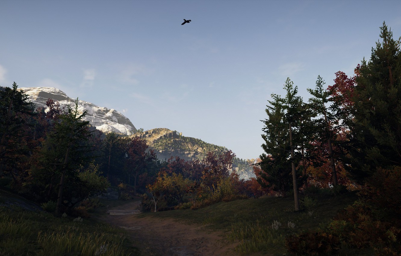 Photo wallpaper landscape, nature, Games, Assassin's Creed, PlayStaion, Assassin's Creed Odyssey, Асасинс Крид Одиссея