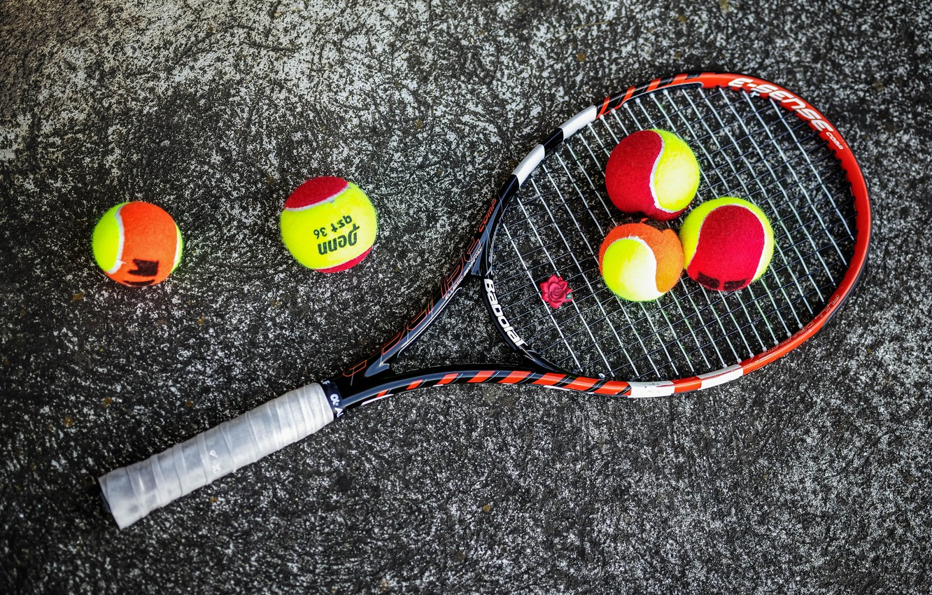 Wallpaper Background Balls Racket Tennis Images For Desktop Section Sport Download