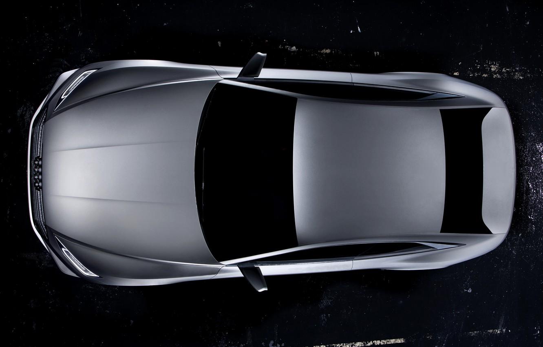 Photo wallpaper Concept, background, Audi, coupe, top, Coupe, 2014, Prologue