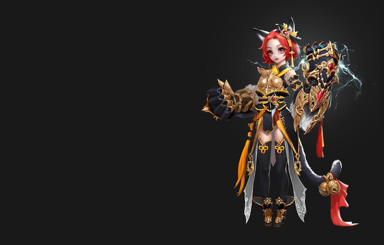 Photo wallpaper the game, anime, fantasy, art, costume design, 6 2, little fighter