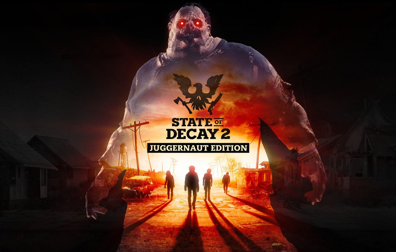 Photo wallpaper Game, Undead Labs, State of Decay 2: Juggernaut Edition