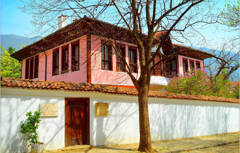 Photo wallpaper House, House, Bulgaria, Bulgaria, Karlovo, Charles