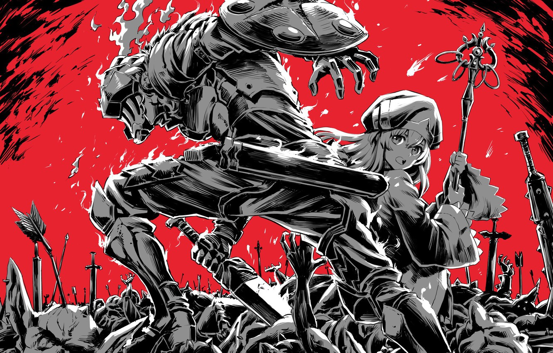 Wallpaper Girl Knight Goblin Slayer Images For Desktop