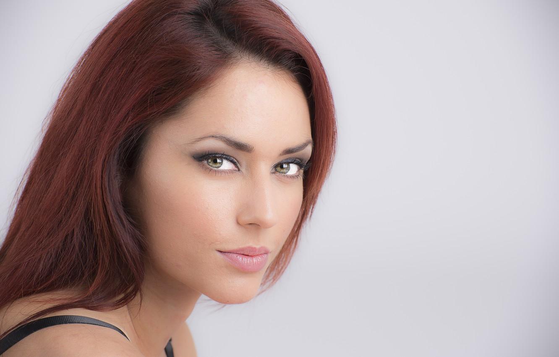 Photo wallpaper model, redhead, look, Luigi Malanetto