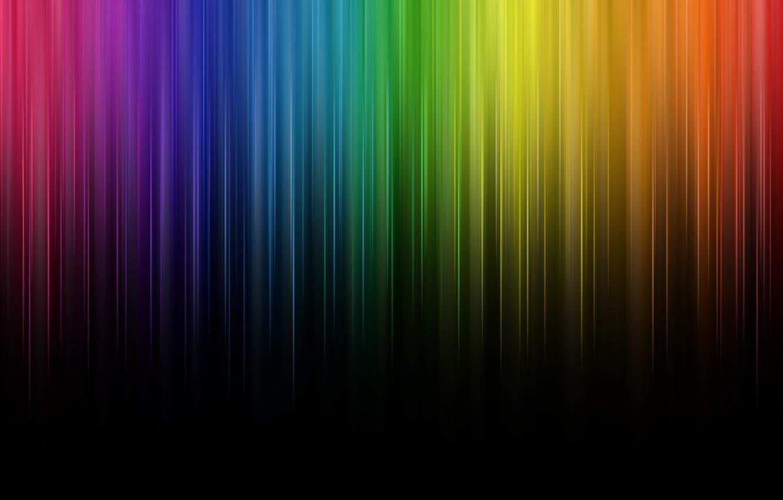 Photo wallpaper line, color, rainbow, rainbow, lines, color