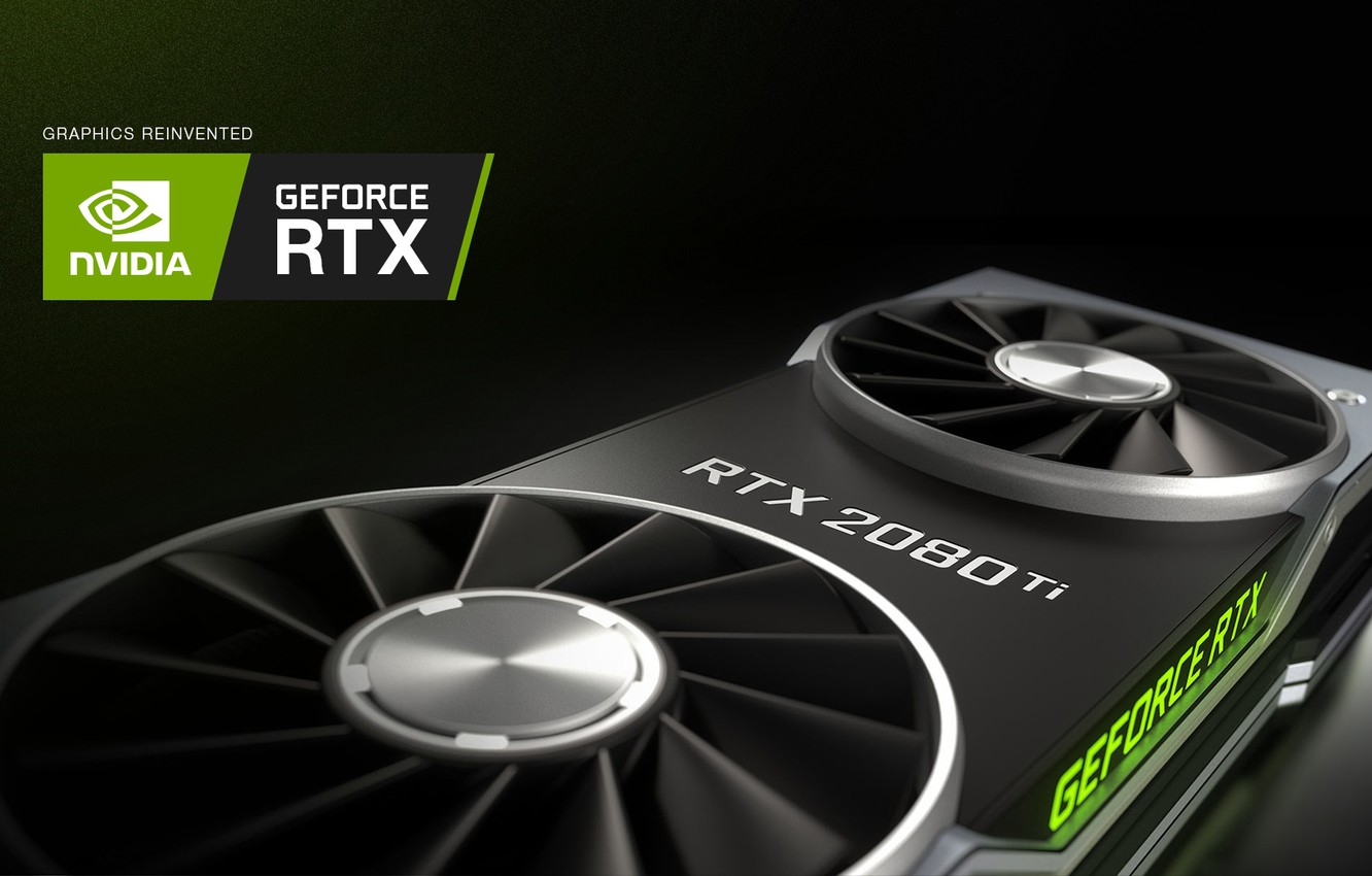 Photo wallpaper Nvidia, 2018, GPU, jensen, Gaming, Graphics, Geforce, Video games, graphics card, Geforce RTX, 11GB, GDDR …