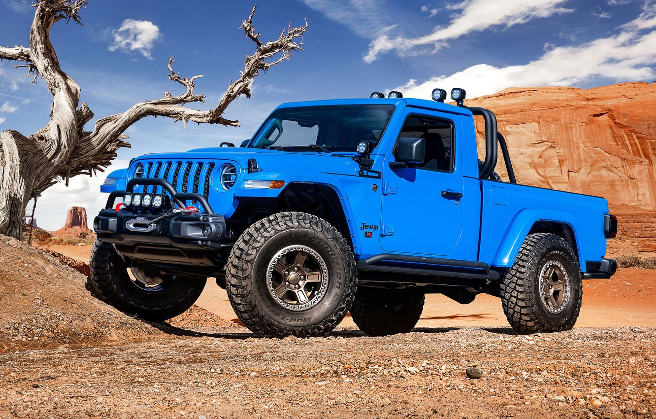 Photo wallpaper Gladiator, Jeep, 2019, Jeep J6