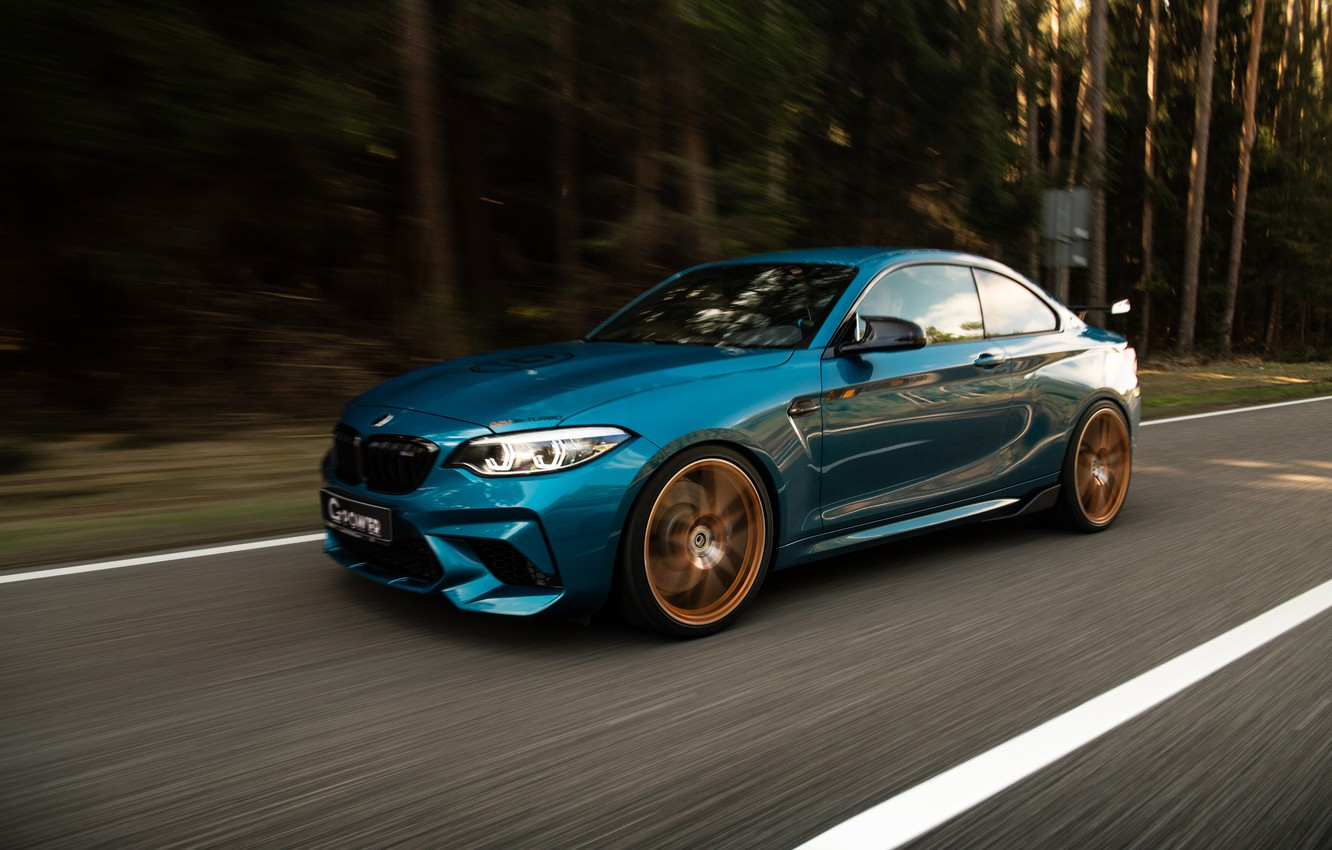 Photo wallpaper BMW, G-Power, Competition, F87, BMW M2