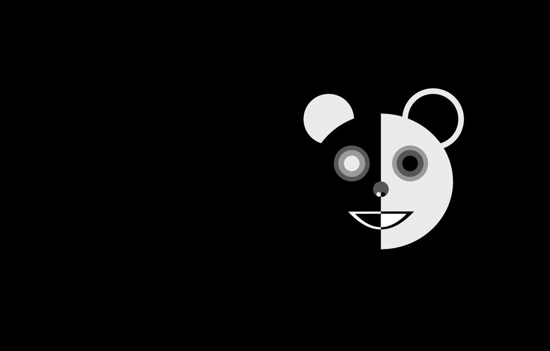 Photo wallpaper art, Panda, Panda, Marco Beghi