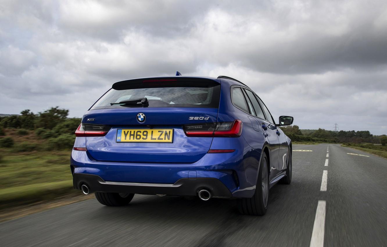 Photo wallpaper BMW, 3-series, universal, feed, 320d, 3P, 2020, UK version, G21, xDrive Touring