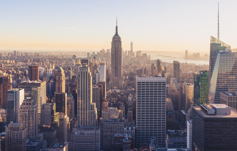 Wallpaper City Building New York Images For Desktop