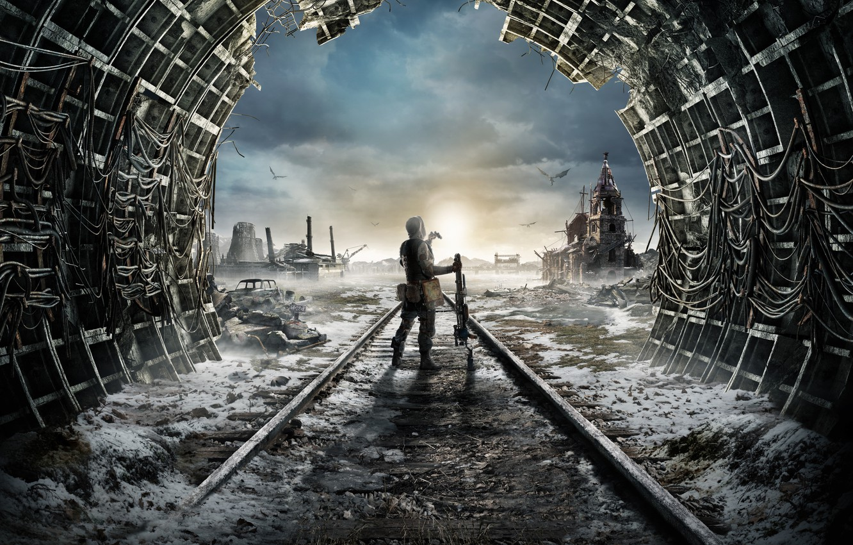 Photo wallpaper The game, Game, Metro Exodus