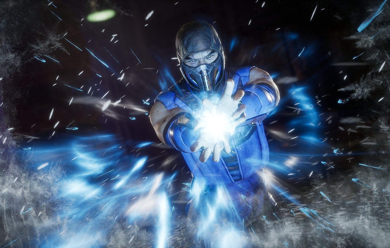 Wallpaper Ice The Game Ice Fighter Mortal Kombat Sub Zero