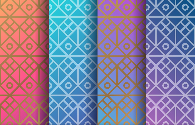 Photo wallpaper pattern, colors, ornament, pattern, seamless