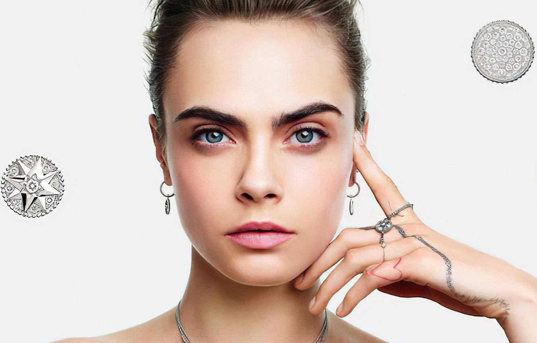 Photo wallpaper look, face, model, Cara Delevingne