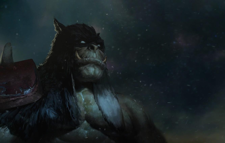 Wallpaper Figure The Game Blizzard Art Orc Fiction Warcraft
