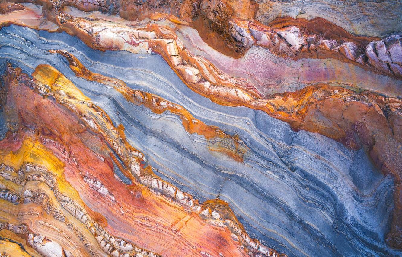 Photo wallpaper paint, stone, texture