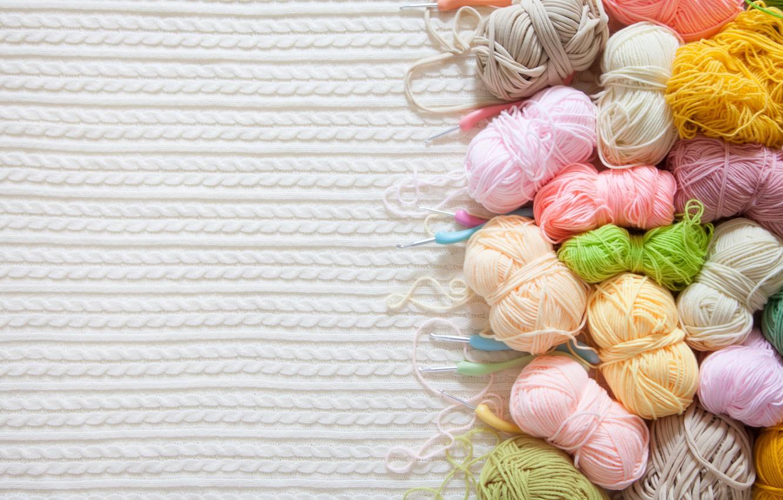 Wallpaper Background Spokes Balls Hooks Knitting Yarn Knitted Images For Desktop Section Raznoe Download