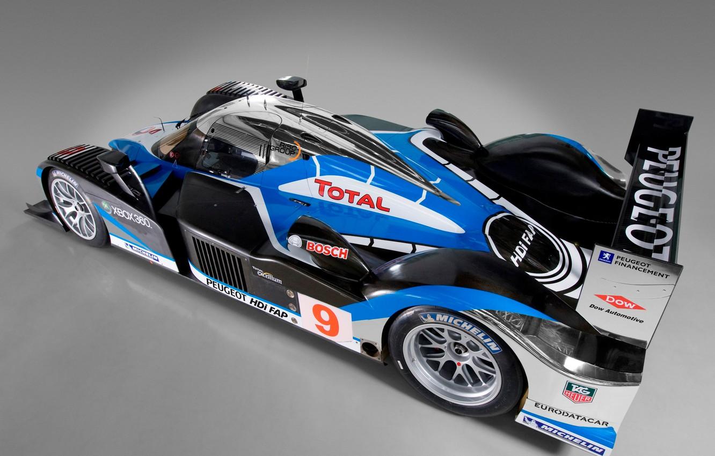 Photo wallpaper 2008, Wheel, Peugeot, Drives, LMP1, 24 Hours of Le Mans, 24 hours of Le Mans, …